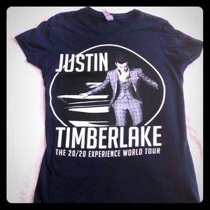 Justin Timberlake concert T-shirt